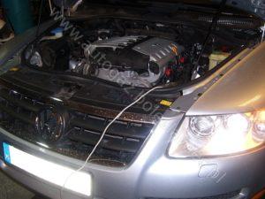 Gas w aucie Volkswagen Touareg 3.0l V6, 2008 rok ze sterownikiem stag 300 premium