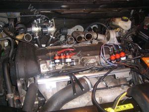 Regulacja sterownika instalacji gazowej w samochodzie Volvo XC90 2.8l BiTurbo, 2007 rok, sterownik stag 300 plus