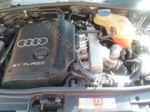 Montaż gazu w samochodzie Audi A4 1.8 Turbo, 1999 rok