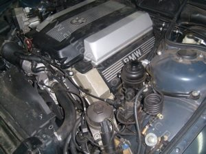 Montaż instalacji gazowej na Dolnym Śląsku BMW 735 3.5l V8, 1999 rok