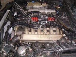 BMW 750 V12 z jedną centralką LPG, sterownik stag 300 plus