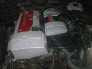 Mercedes E200 1.8l Kompresor, 2002 rok, montaż samochodowej instalacji gazowej