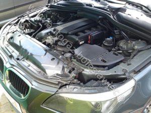 BMW E60 rocznik 2005 z instalacją Stag 300 Premium
