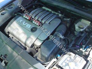 Autogaz Stag 300 Plus w samochodzie Peugeot 607 3.0 V6