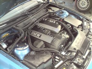 BMW E46 z samochodową instalacją gazową