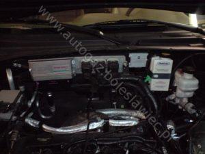 Volkswagen Pheton, 2004 rok, instalacja Prins z urządzeniem FLASHLUBE chroniącym silnik