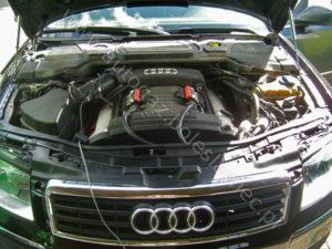 Audi A8 4.2 Quatro 2004 rok ze sterownikiem Stag 300 Premium